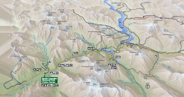 Highway 20 Detail Map - From park brochure