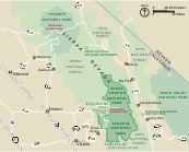 Area Map - From park brochure