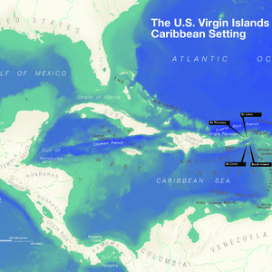 Caribbean Setting Map - From \