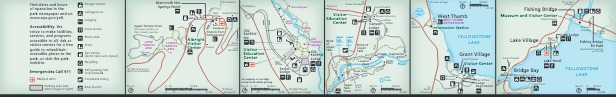 Detail Maps - From park brochure