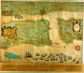 St. Augustine as it looked in 1589.