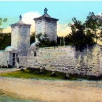 The only way into the city of St. Augustine was through the city gate. First constructed in 1739, the now familiar coquina pillars were added in 1808.
