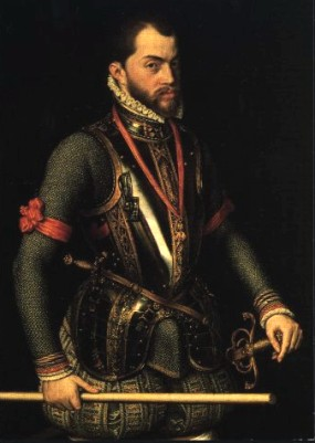 Phillip the Second; King of Spain from 1556 until 1598