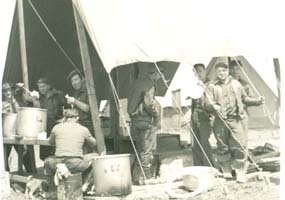 Mess Tents, 1939.