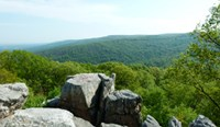Photo of Chimney Rock, one of the vistas in Catoctin Mountain Park. Should you Enjoy the Scenery?