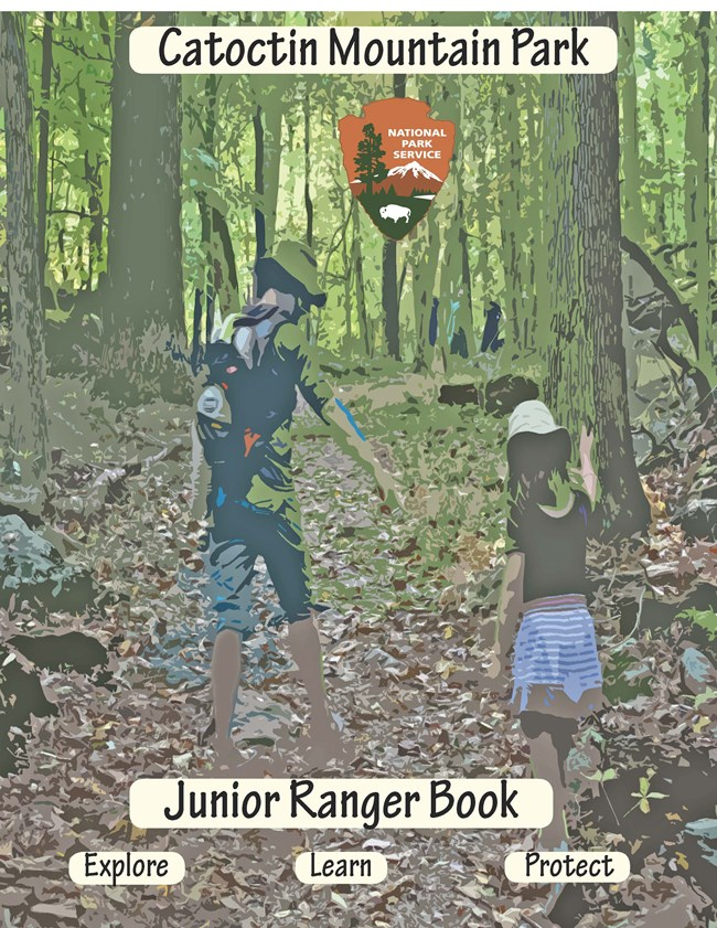 Image of Junior Ranger Book Front Cover