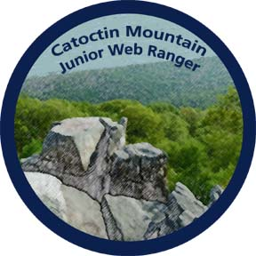 Become a Catoctin Mountain Park Junior Web Ranger!