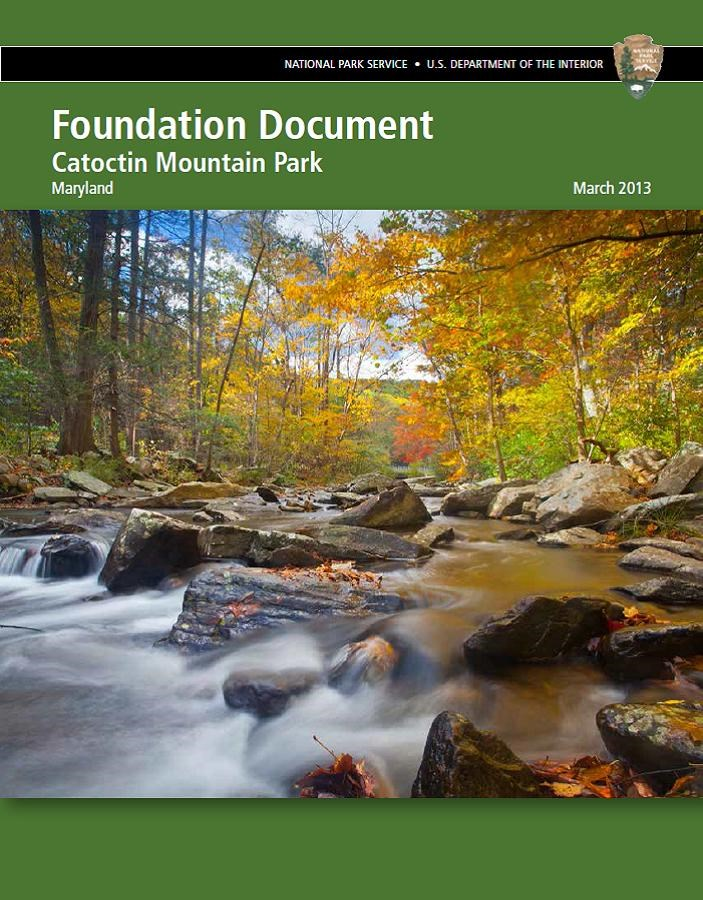 2013 Foundation Document Cover Page