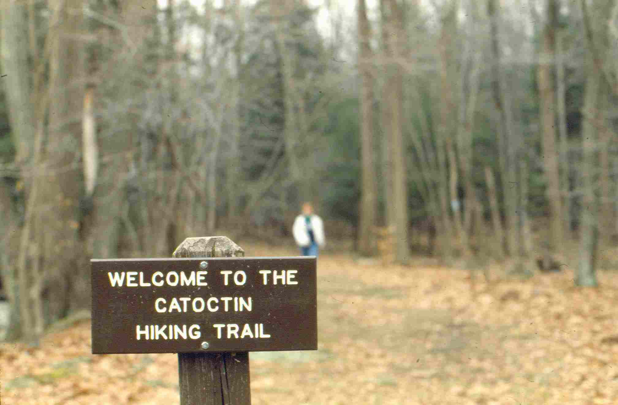 Image of Catoctin National Recreational Trail Sign Click Image to Visit Catoctin National Recreation Trail