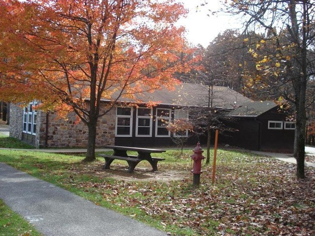 Camp Greentop Recreation Hall