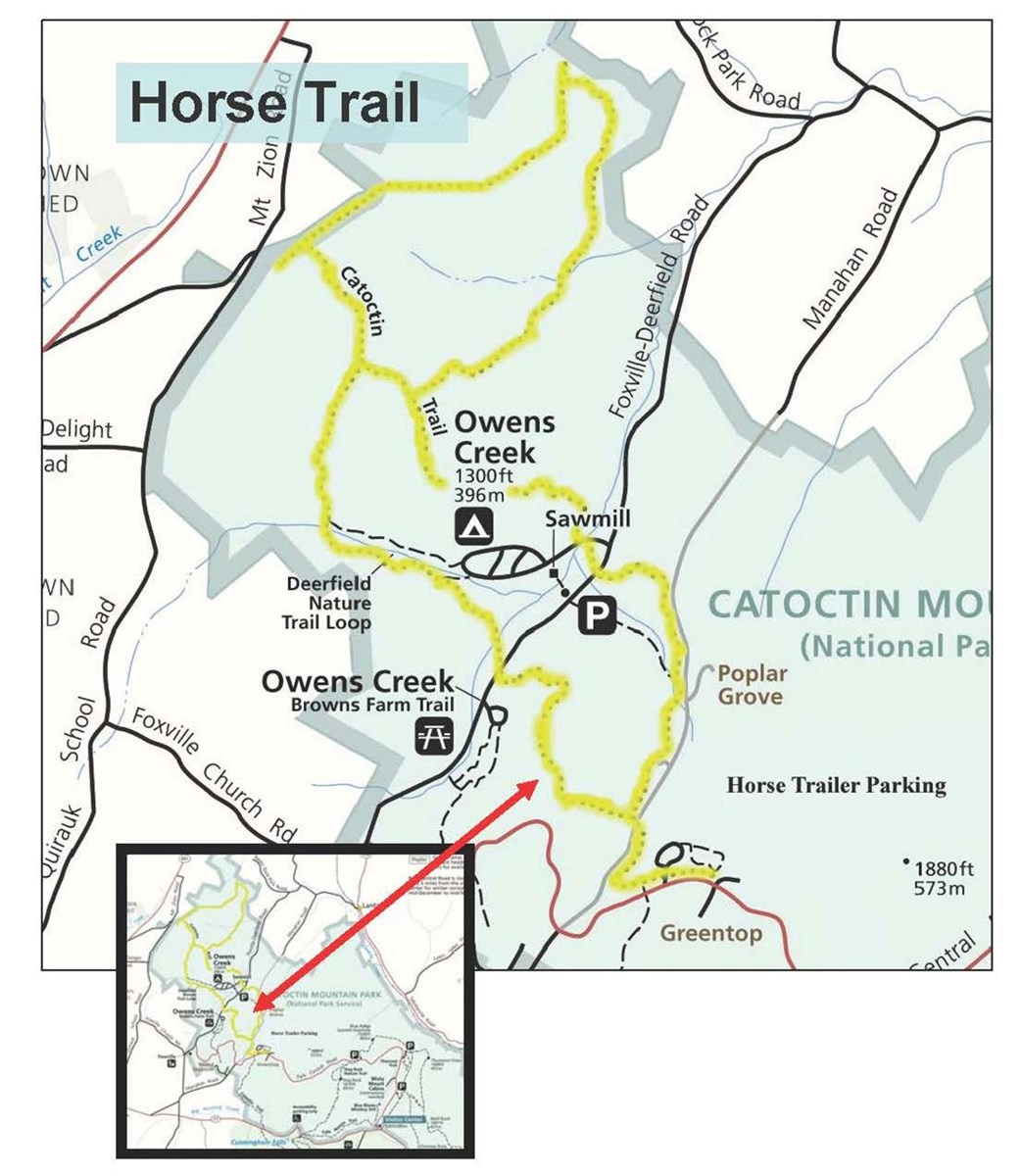 Image of Horse Trail Map