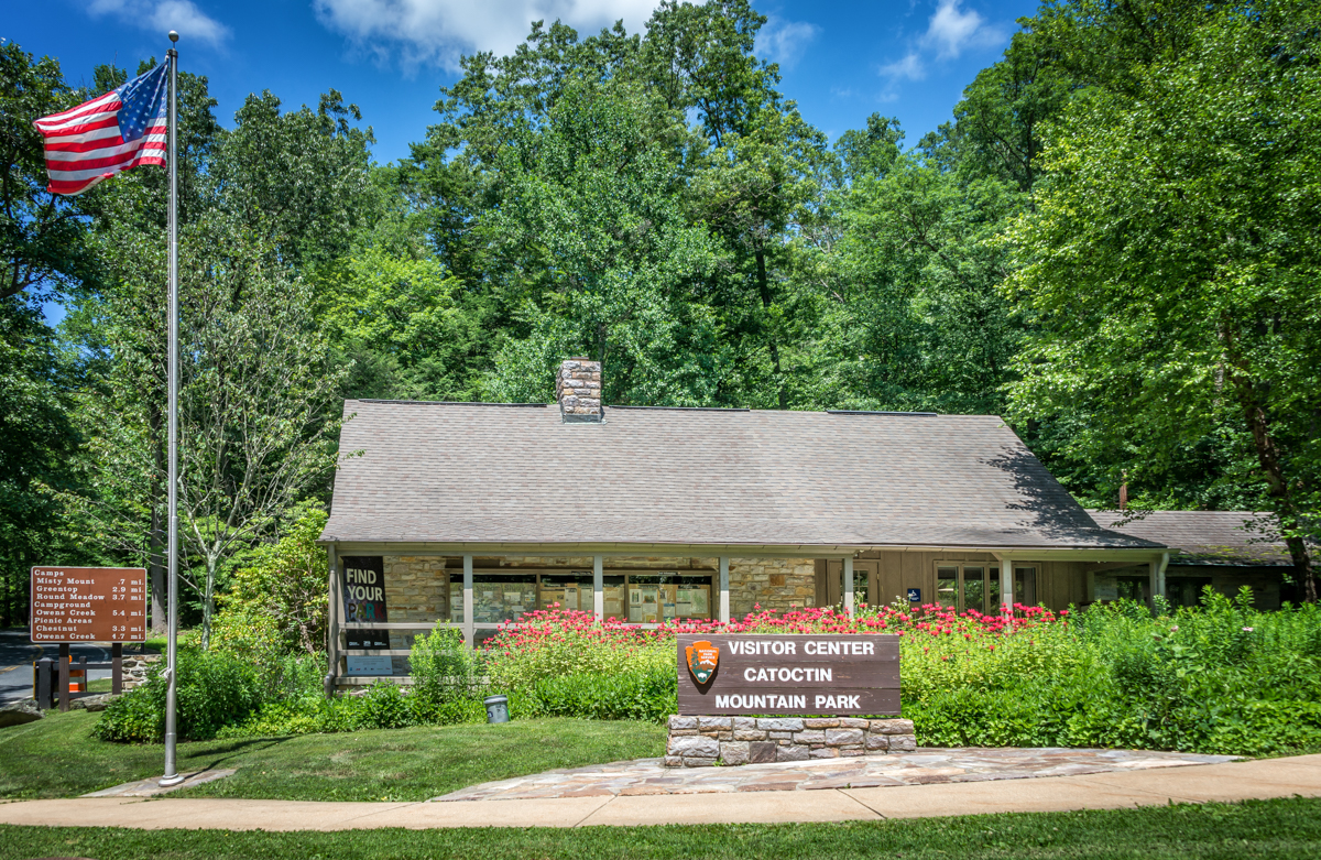 Image of Catoctin Mountain Park Visitor Center