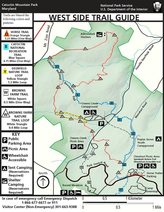 Image of West Side Trail Guide