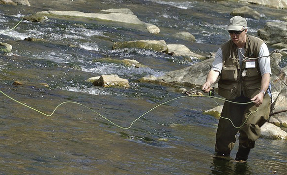 Fly Fishing on Big Hunting Creek