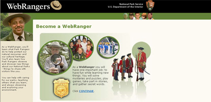 Learn all about national parks by becoming a WebRanger!