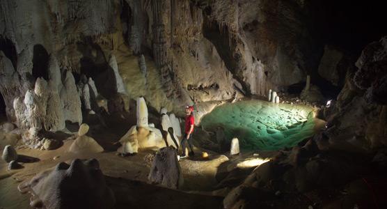 Lechuguilla Cave Carlsbad Caverns National Park US National - Map of public caves us