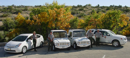 Carlsbad Caverns National Park just got a bit greener with the purchase of one more hybrid car and two electric vehicles.