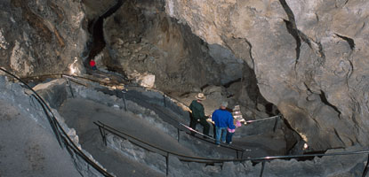 Start your walk through Carlsbad Cavern on the self-guided Natural Entrance tour.