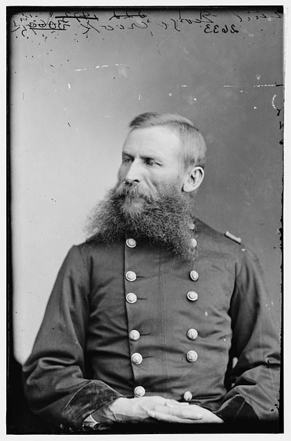 Brig. Gen George Crook, commander of Union forces at Second Kernstown