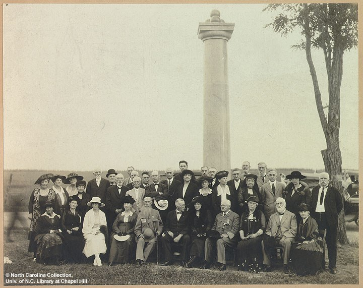 Ramseur Monument Dedication