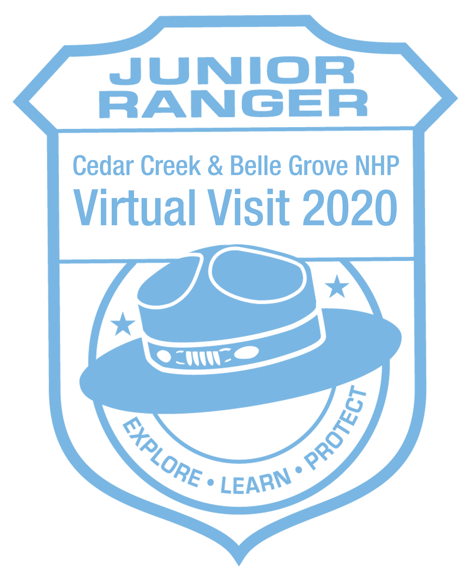 Junior Ranger Cancellation Stamp for Virtual Users