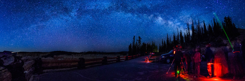 The summer milky way from Cedar Breaks