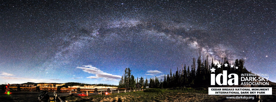 Milky way over Cedar Breaks