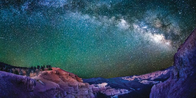 Milky-way Over Cedar Breaks