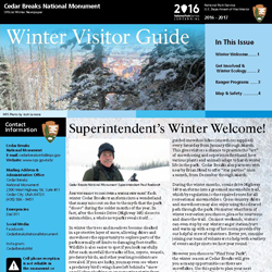 Section of 2016/2017 Winter Visitors Guide