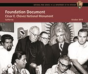 The front cover of the Foundation Document