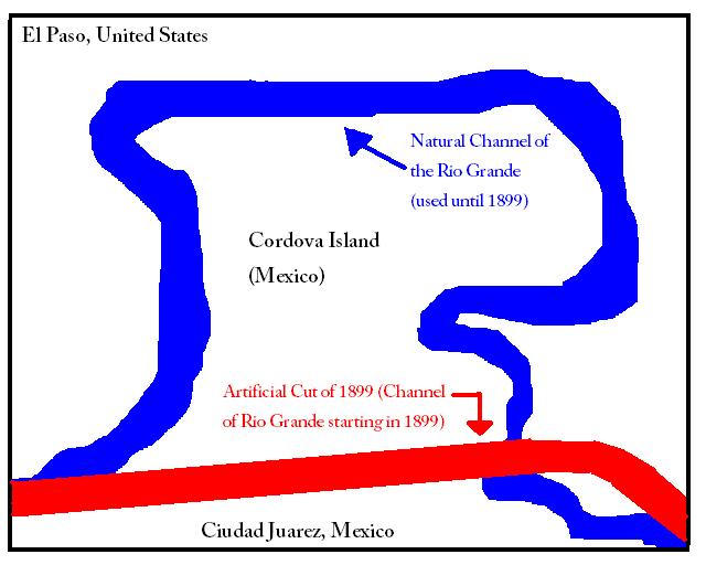 Sketch Of Cordova Island