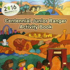 Front cover of Centennial Junior Ranger Book