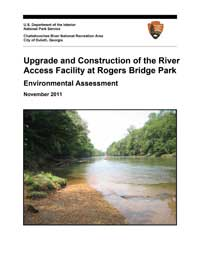 Rogers Bridge Park EA draft cover