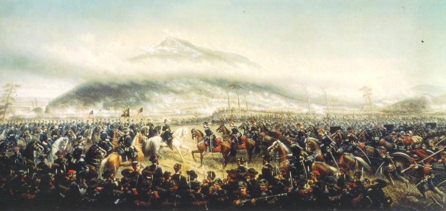 the battles for chattanooga chickamauga chattanooga national