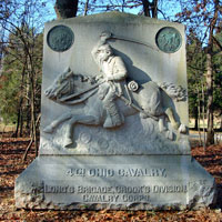 4th Ohio Calvary Monument.