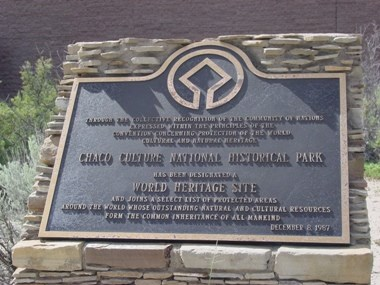 Photo of World Heritage Plaque