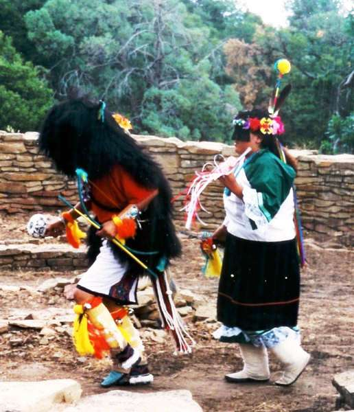 Acoma Sky City Group Dancers