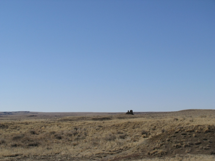 photo of Kin Klizhin in the distance
