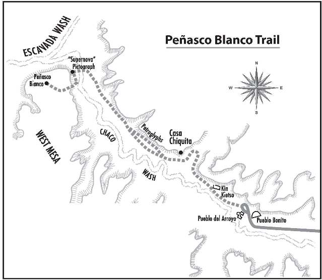 Map of Casa Chiquita trail