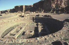 Photo of Great Kiva at Pueblo Bonito
