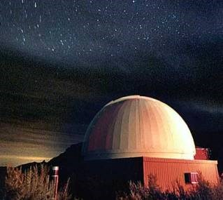 Photo of Chaco Observatory at night