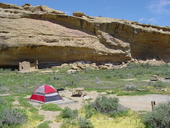 Photo of tent in Gallo Campground