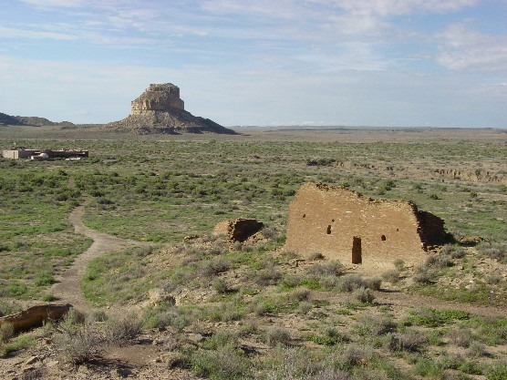Photo of Una Vida with Fajada Butte in distance