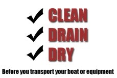 The principles of Clean, Drain, and Dry