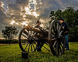 Artillery at Wilson's Creek National Battlefield