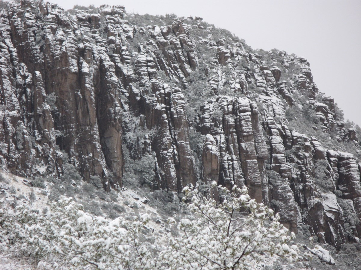 Snow Capped Rocks
