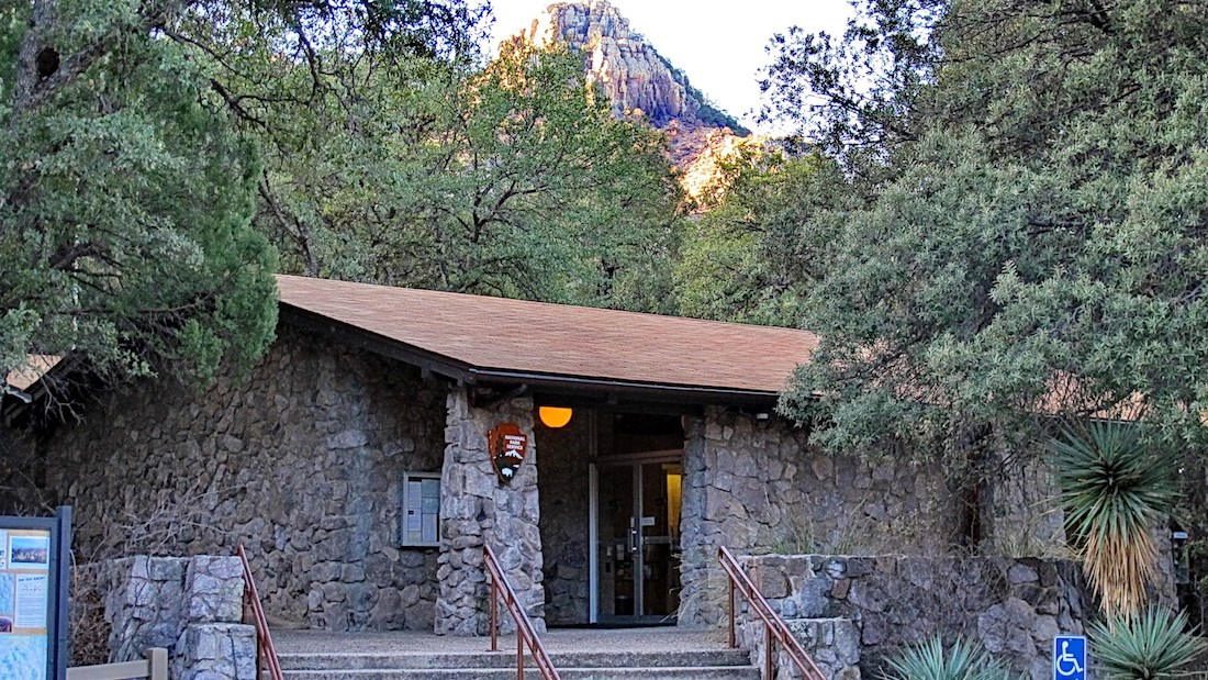 Chiricahua National Monument visitor center
