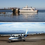 Boat and Air Transportation to the Channel Islands