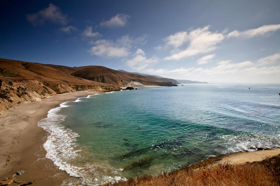 backcountry beach camping  santa rosa island