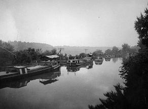 Photo of historic canal